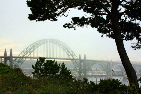 Yaquina Bay Bridge, Newport, Oregon (c2013, KB)